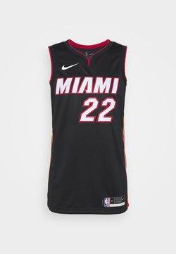 Nike Performance - NBA MIAMI HEAT JIMMY BUTLER SWINGMAN  - Article de supporter - black/tough red/sundial