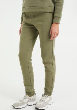WE Fashion - Jogginghose - olive green