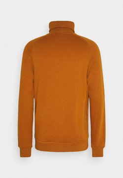Scotch & Soda - SOFT TOUCH HIGH NECK - Sweatshirt - tobacco