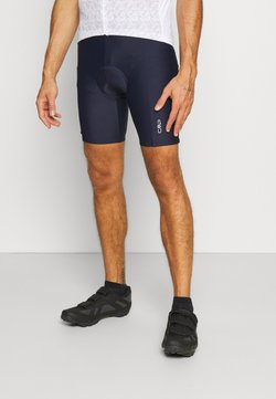 CMP - MAN SHORTS BIKE - Tights - black blue