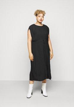 City Chic - DRESS PLEATED LOVE - Day dress - black