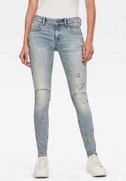 G-Star - G-STAR JACKPANT 3D MID SKINNY WMN VINTAGE LT AGED PAINTED WOMEN - Jeans Skinny Fit - vintage lt aged painted