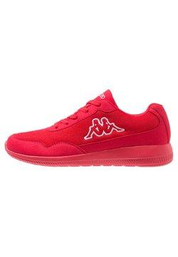 Kappa - FOLLOW OC - Sports shoes - red/white