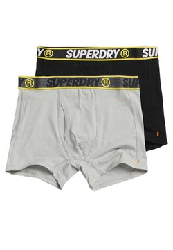 Superdry - 2 PACK - Shorty - black/steel grey