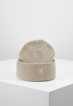Knowledge Cotton Apparel - LEAF BEANIE UNISEX - Berretto - off-white