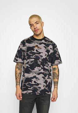 Karl Kani - SMALL SIGNATURE CAMO TEE - T-Shirt print - black