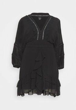 City Chic - DRESS SWEETHEART - Freizeitkleid - black