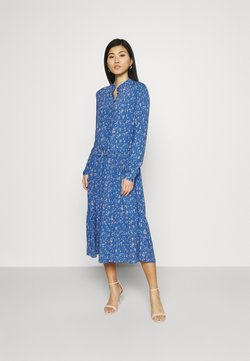 Marc O'Polo DENIM - Blusenkleid - multi/cornflower