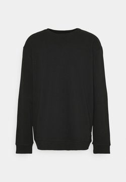 Only & Sons - ONSCERES LIFE CREW NECK PLUS - Sweatshirt - black