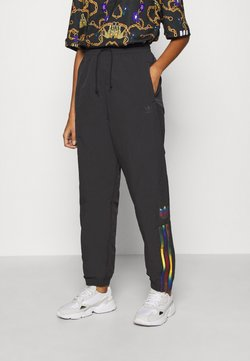 adidas Originals - PAOLINA RUSSO ADICOLOR SPORTS INSPIRED MID RISE PANTS - Pantaloni sportivi - black