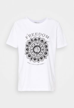 ONLY Tall - ONLSYMBOL - T-shirt print - white