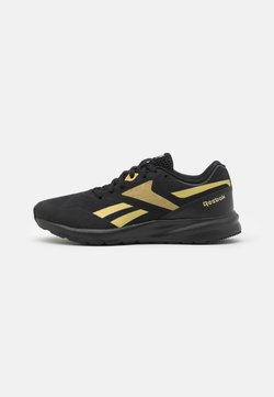 Reebok - RUNNER 4.0 - Zapatillas de running neutras - black/gold metallic