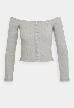 Even&Odd - Langarmshirt - mottled grey