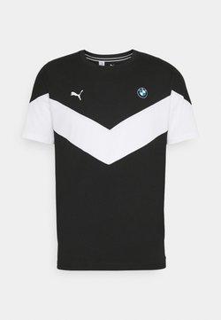 Puma - BMW TEE - T-shirt imprimé - black
