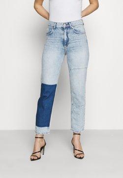 KENDALL + KYLIE - STRAIGHT LEG PANEL  - Straight leg jeans - light blue