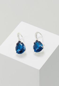 SNÖ of Sweden - BIRGIT STONE PENDANT EAR - Earrings - silver-coloured/blue