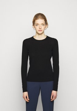 Theory - CREW NECK - Strickpullover - black