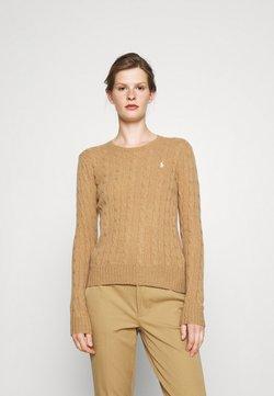 Polo Ralph Lauren - JULIANNA CLASSIC LONG SLEEVE - Sweter - collection camel melange