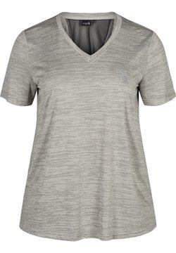 Active by Zizzi - T-Shirt basic - grey