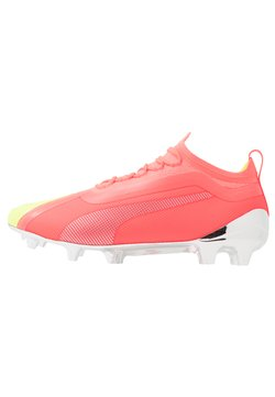 Puma - ONE 20.1 OSG FG/AG - Moulded stud football boots - nrgy peach/fizzy yellow/aged silver