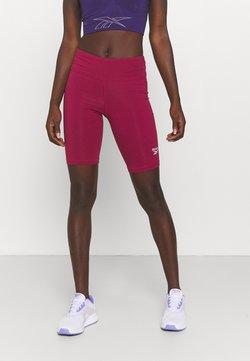 Reebok - RI SL FITTED SHORT - Tights - punch berry