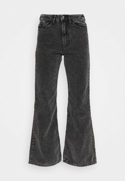 Weekday - RITZ TROUSERS - Stoffhose - washed black