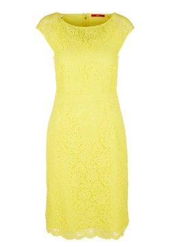 s.Oliver - KURZES KLEID AUS BLÜTENSPITZE - Cocktailkleid/festliches Kleid - yellow