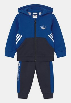 adidas Originals - HOODIE SET UNISEX - Survêtement - royblu/legink