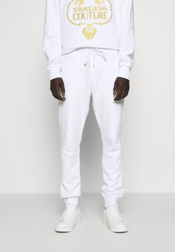 Versace Jeans Couture - BASIC JOGGERS - Jogginghose - white