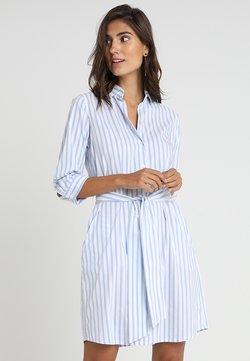 Seidensticker - Sukienka koszulowa - weiß/hellblau