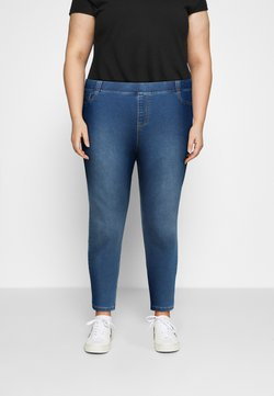 CAPSULE by Simply Be - AMBER - Jeans Skinny Fit - mid blue