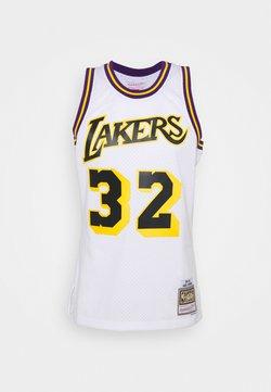 Mitchell & Ness - NBA LOS ANGELES LAKERS RELOAD SWINGMAN MAGIC JOHNSON - Pelipaita - white