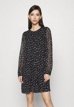 Vero Moda - VMALMINA LOOSE SHORT DRESS - Robe d'été - black
