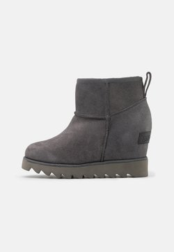 Colors of California - Ankle Boot - charcoal