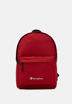 Champion - LEGACY BACKPACK - Reppu - dark red/black