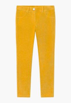 Benetton - BASIC GIRL - Kangashousut - yellow