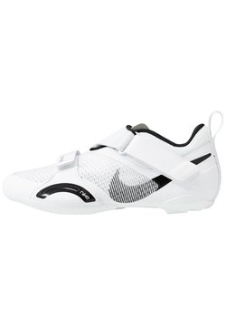 Nike Performance - SUPERREP CYCLE - Fahrradschuh - white/black