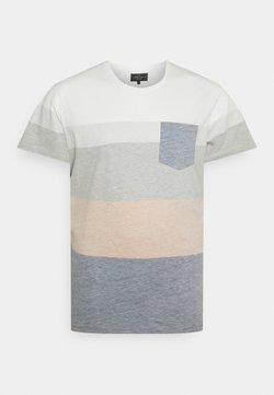 URBN SAINT - DEX TEE - T-Shirt print - inca gold