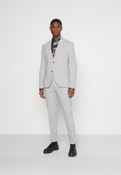 Isaac Dewhirst - PLAIN LIGHT SUIT - Anzug - grey