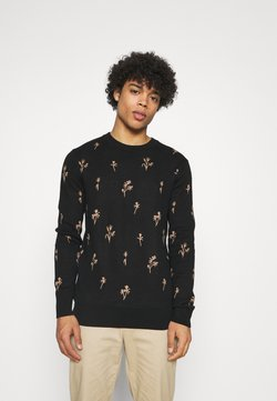 Scotch & Soda - CREWNECK WITH ALLOVER PATTERN - Strickpullover - combo