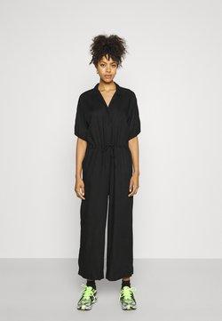 Monki - Jumpsuit - black dark solid