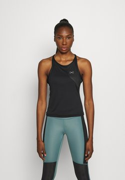 Under Armour - UA QUALIFIER ISO CHILL TANK - Camiseta de deporte - black