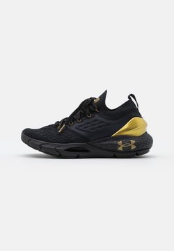 Under Armour - HOVR PHANTOM 2 - Zapatillas de running neutras - black/metallic gold