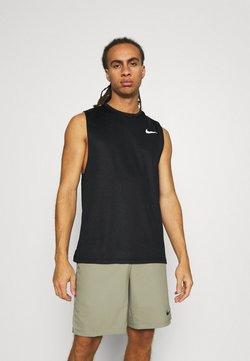 Nike Performance - SUPERSET TANK - Linne - black