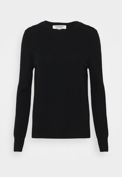 Marks & Spencer London - CREW - Stickad tröja - black