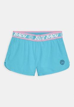 BIDI BADU - CARA TECH SHORTS UNISEX - kurze Sporthose - aqua/white