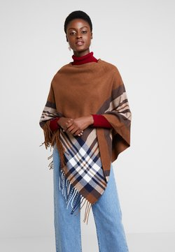 Cream - BRIELLE PONCHO - Cape - dachshund brown