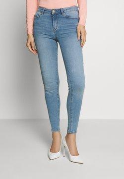 Springfield - Slim fit jeans - light blue