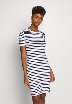 Superdry - EDEN MIX DRESS - Vestito di maglina - white