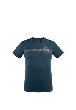 Millet - BOREN TS SS M - T-shirt imprimé - marine